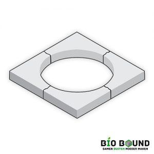 Boomkrans 45 x 10 cm circulair biobased