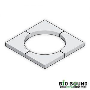 Boomkrans 60 x 10 cm circulair biobased