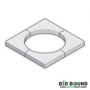Boomkrans 60 x 12 cm circulair biobased