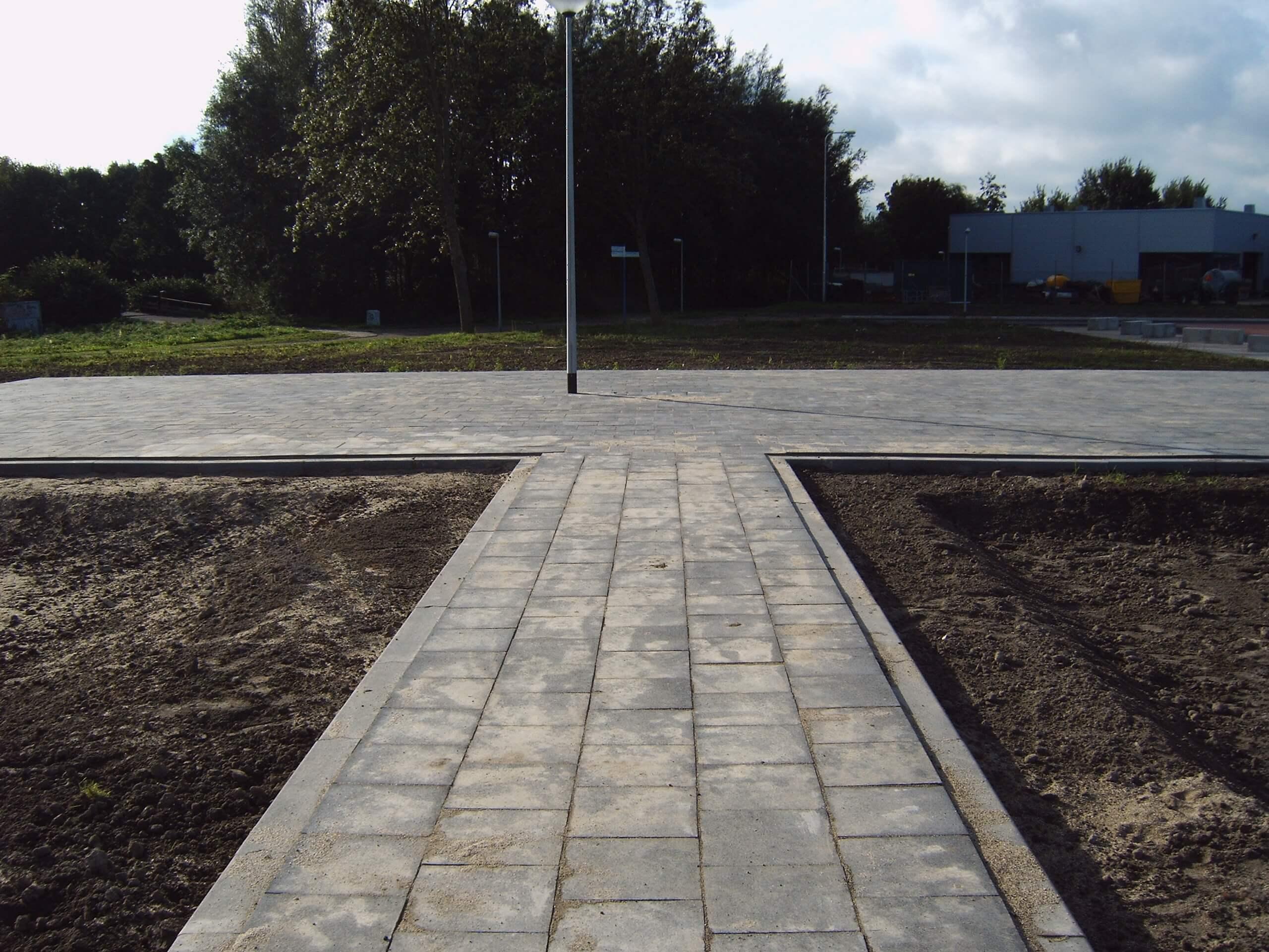 circulaire biobased betontegels