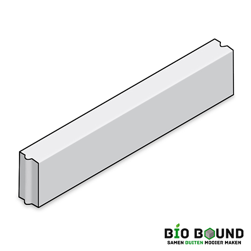 Circulaire, biobased opsluitband 10 x 20