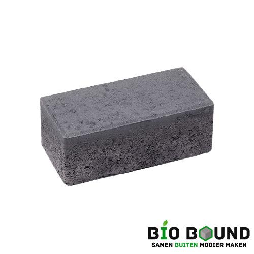 circulaire, biobased betonstraatsteen zwart
