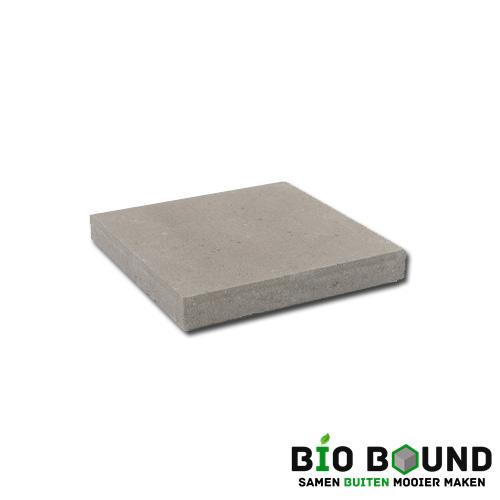 circulaire, biobased betontegel grijs