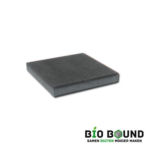 circulaire, biobased betontegel zwart