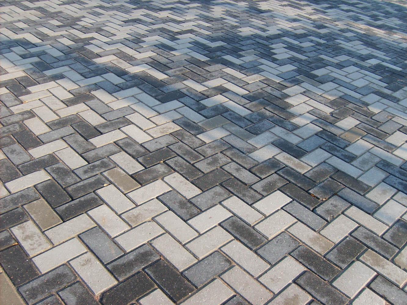 grijze circulaire, biobased betonstraatsteen
