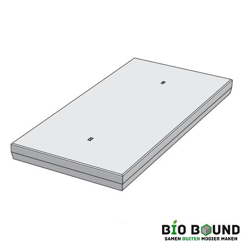 duurzame betonplaat 100 x 200 x 14 cm