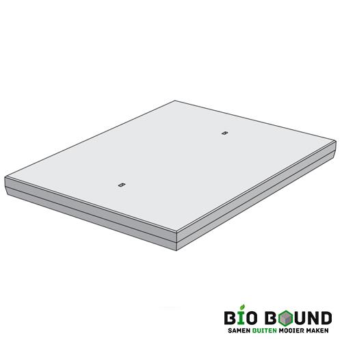 betonplaat 150 x 200 x 14 cm