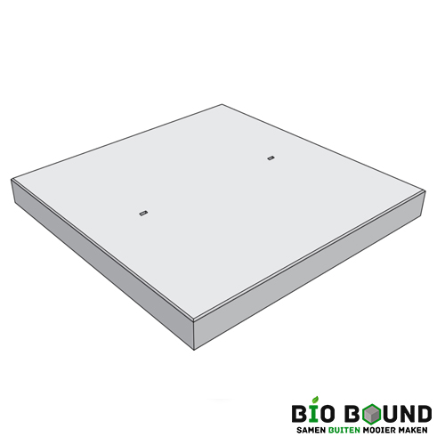 biobased betonplaat 200 x 200 cm