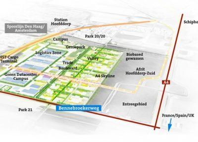 Circulaire biobased bestratingsmaterialen voor duurzaamste bedrijventerrein van Europa Schiphol Trade Park