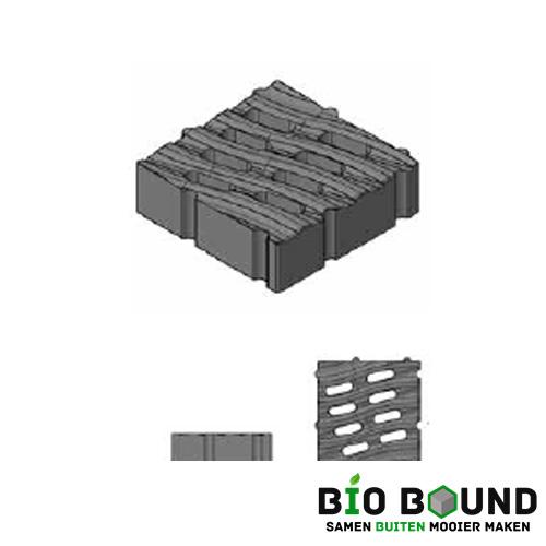 Circulaire, biobased grasbetontegel type M