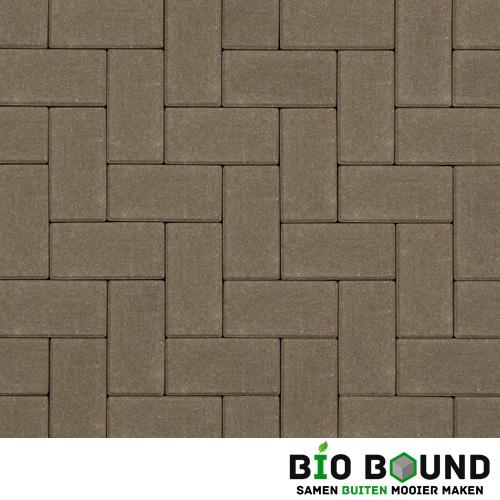 Circulaire biobased betonstraatsteen grijs