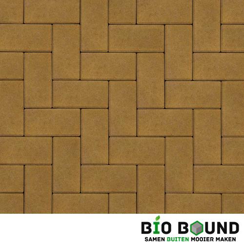 Circulaire biobased betonstraatsteen intrageel