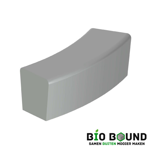 parkband zitrand elegance 2 zijdig bocht biobased circulair beton