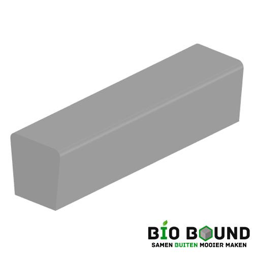 parkband zitrand elegance 2 zijdig eindstuk biobased circulair beton