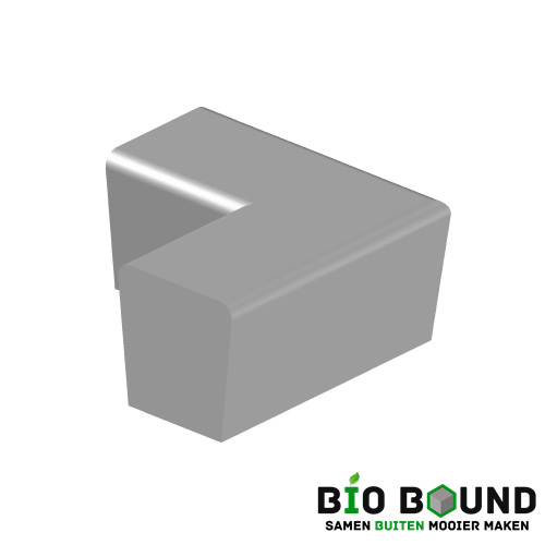parkband zitrand elegance 2 zijdig hoek biobased circulair beton