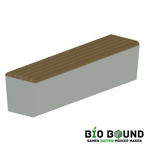 parkband zitrand elegance 2 zijdig met zitting biobased circulair beton