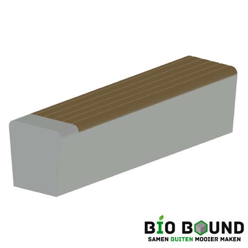 parkband zitrand elegance 2 zijdig zitting rechts links biobased circulair beton - kopie