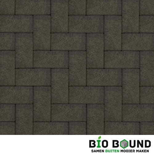 Circulaire biobased betonstraatsteen WGS basalt 1-3 glanskies