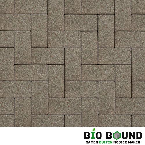 Circulaire biobased betonstraatsteen WGS gibraltar wit