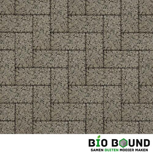 Circulaire biobased betonstraatsteen WGS segovia grijs