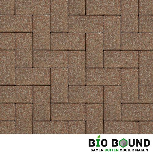 Circulaire biobased betonstraatsteen WGS toledo rood
