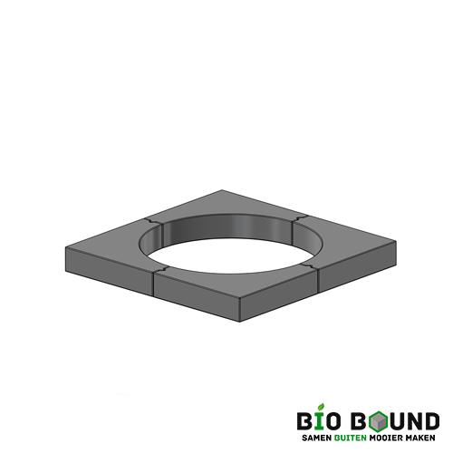 circulaire, biobased boomkrans 45x10 cm