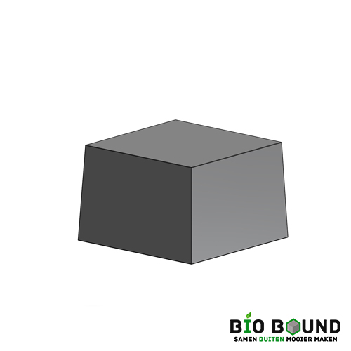circulaire, biobased siercarre 100 cm
