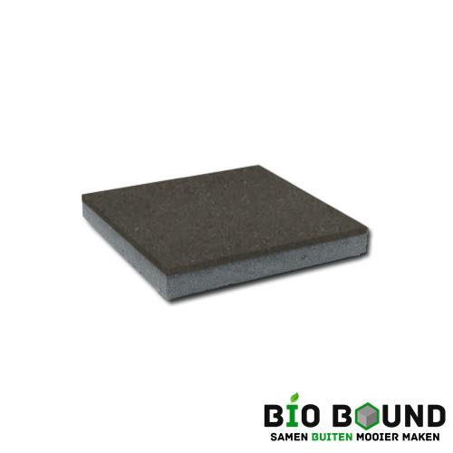 circulaire, biobased betontegel bruin