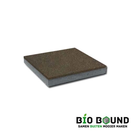circulaire, biobased betontegel hardsteenkleur