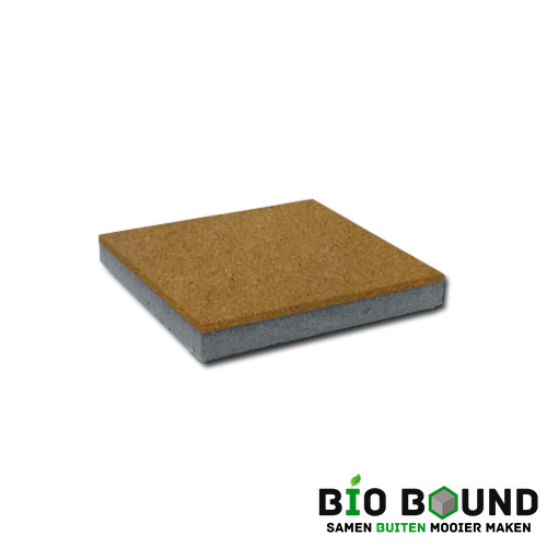 circulaire, biobased betontegel intrageel