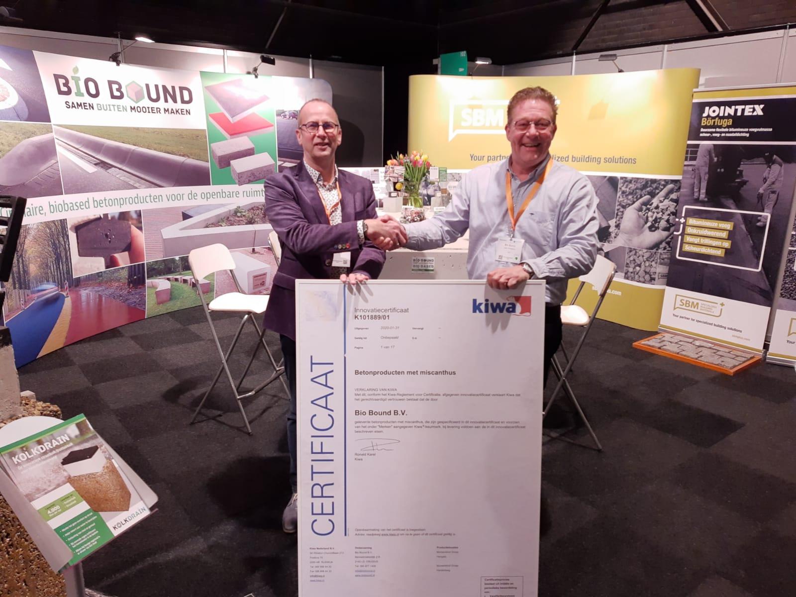 Duurzaam beton met KIWA certificering
