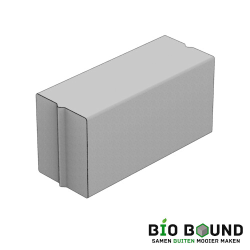 Parkband bloembakband 40 x 50 cm biobased circulair beton