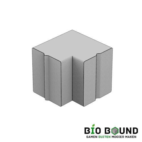 Parkband bloembakband 40 x 50 cm hoek biobased circulair beton