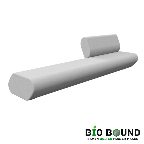 bank Monaco - duurzaam beton circulair biobased beton
