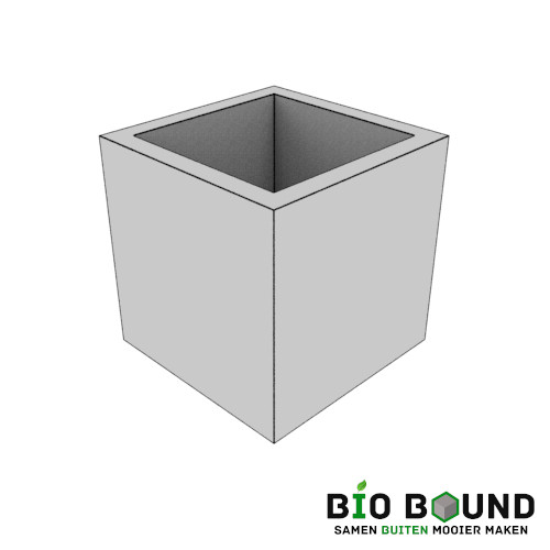 circulaire, biobased boombak bloembakken