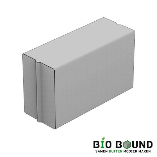 circulaire biobased parkband bloembakband 40 x 60 cm van duurzaam beton