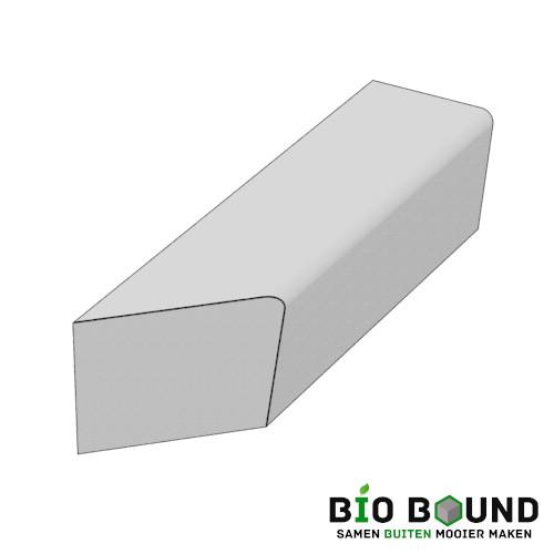 parkband zitrand bank Elegance basis biobased circulair beton schegstuk