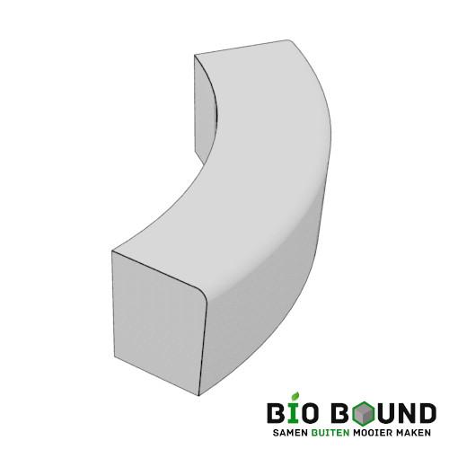 parkband zitrand bank Elegance basis bocht biobased circulair beton