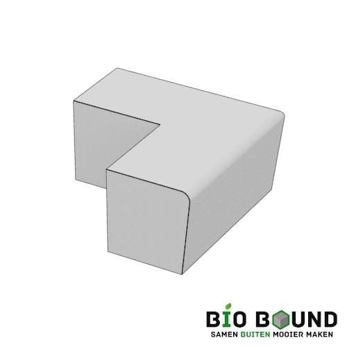 parkband zitrand bank Elegance basis hoek biobased circulair beton