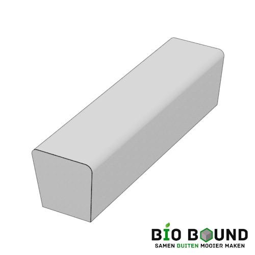 parkband zitrand bank Elegance tweezijdig eindstuk biobased circulair beton