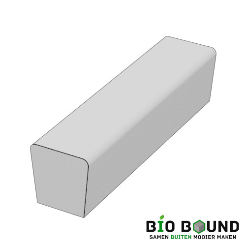 parkband zitrand bank elegance 2 zijdig recht biobased circulair beton