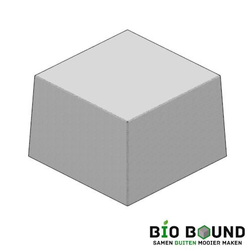 Circulaire biobased siercarre vierkant 100 duurzaam beton