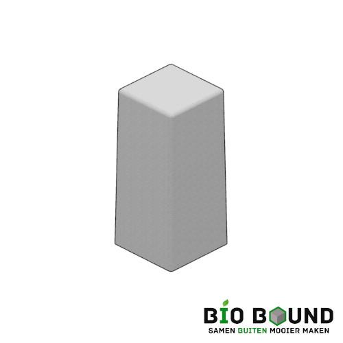 Circulaire biobased siercarre vierkant 30 duurzaam beton