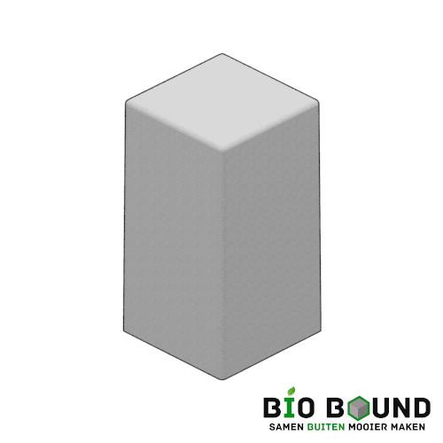 Circulaire biobased siercarre vierkant 40 duurzaam beton
