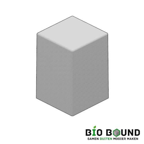 Circulaire biobased siercarre vierkant 45 duurzaam beton