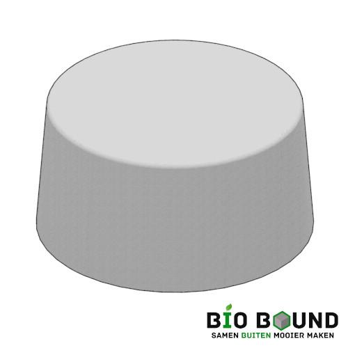 Circulaire biobased sierpoef sierpoef rond 100 duurzaam beton