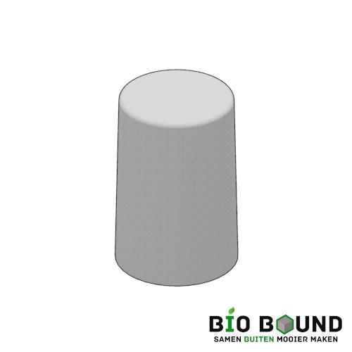 Circulaire biobased sierpoef sierpoef rond 45 duurzaam beton