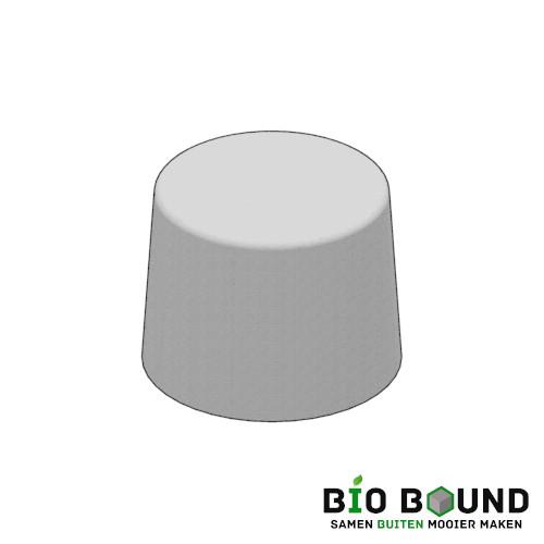 Circulaire biobased sierpoef sierpoef rond 60 duurzaam beton