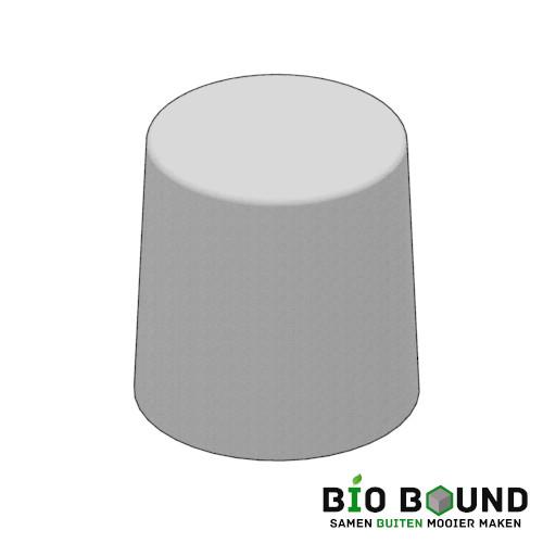 Circulaire biobased sierpoef sierpoef rond 65 duurzaam beton