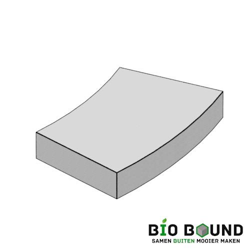 circulaire biobased bochttreden 60x16 cm - duurzaam beton